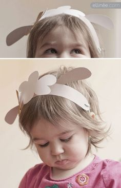 Printable Bunny & Lamb Ears for Easter