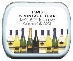Adult Birthday Supplies Mint Favors $2.50