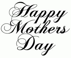 Clip Art Happy Mothers Day Clipart mothers day comes part of happy bulletin border day