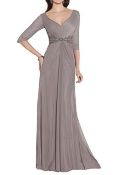 Audrey Bride Chief Formal Evening Gowns Mother of the Bride Dresses with Sleeves-24W-Gray Audrey Bride http://www.amazon.com/dp/B019JY3T9G/ref=cm_sw_r_pi_dp_U0kJwb1733GWB