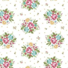 Fabric Roses, Floral Fabric, Floral Prints, Floral Stripe, Cotton Fabric, Farmhouse Quilts, Flag Quilt, Riley Blake, Rose Design
