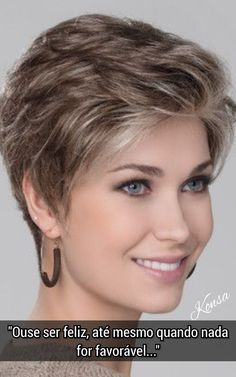 (notitle) for thin hair over 50 Short Sassy Haircuts, Short Shag Hairstyles, Short Haircut Styles, Haircuts For Fine Hair, Haircut For Thick Hair, Short Hair Styles Easy, Short Hairstyles For Women, Cool Hairstyles, Short Grey Hair