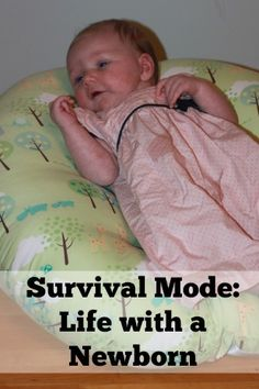 Survival Mode: Life with a Newborn - Beauty in the Mess