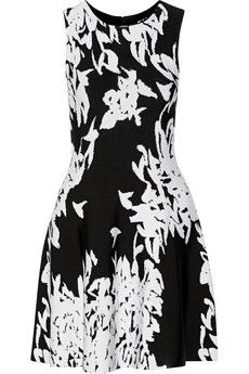 Issa Jacquard stretch-knit mini dress | THE OUTNET