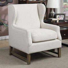 Coaster Furniture Farmersville Wingback Chair 902490 Coasterfurniture