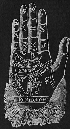"chaosophia218: ""Art of Ancient Palmistry. """