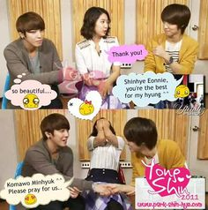Please, I want this couple come true in real life. (YongHwa & Shin Hye)