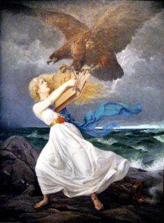 Iston tunnetuin teos, Hyökkäys (öljy kankaalle, 1899)