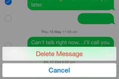 How to Delete Individual Message from iPhone with iOS 8 Message App