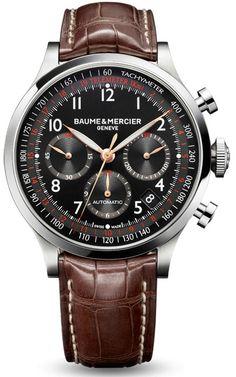 Baume & Mercier Chronograph 10067 - швейцарские мужские часы наручные