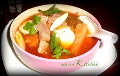 Kimchi Soup with Silk Tofu