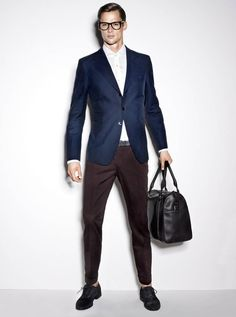 I don't care for the german designer but here it's good! mat gordon for joop spring 2011