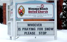 Whoever is Praying for Snow…