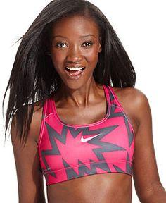 Nike Pro Striped Sports Bra