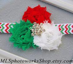 35% OFF  Santa's Little Helper Headband  Baby by MLSPhotoWorksShop