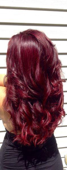 awesome Страстные красные волосы (50 фото) — Актуальные методики окрашивания и оттенки 2017 года