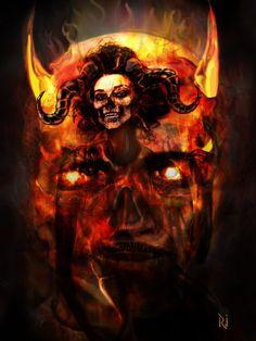 THE DEVIL WITHIN by Rjrazar1.deviantart.com on @DeviantArt