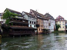 La Petite France in Strasbourg, #France #beautifulplaces