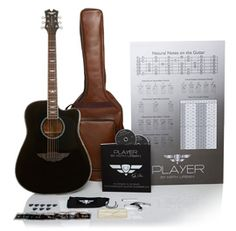 Keith Urban Player Guitar and Lesson Package, and I'm on my way to learning 30 Songs in 30 Days. Look out world.