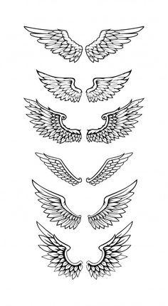 Wing Neck Tattoo, Neck Tattoo For Guys, Hand Tattoos For Guys, Back Neck Tattoos, Tattoo Wings, Tattoo Bird, Small Tattoos Men, Tatoos Men, Neck Tattoos Women