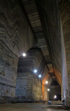 Salina Veche is an old salt mine, located in Slănic, Prahova County, Romania, just 100 km north of Bucharest. The salt mine is c