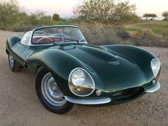 Classic Jaguar design 1957
