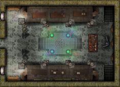 forest cottage battlemap - Google Search