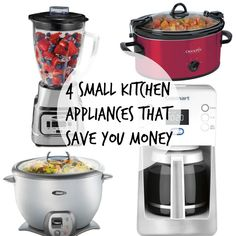 Did you know you can save money by investing in purchasing or upgrading the small appliances in your kitchen? They are the multi-tasking workhorses that will help you do more in your kitchen,  making you want to eat at home more (and spend less on eating out). When you love the small kitchen appliances you own, you're more likely to use them often. Read on as eBay shares four small kitchen appliances that will save you money in the kitchen!