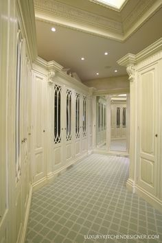 Traditional Closet with Built-in bookshelf, Carpet, specialty door, Skylight, Couristan carpets amelia trellis, Crown molding