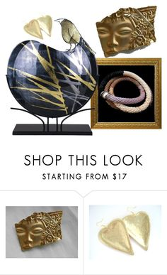 """Gold!"" by colchico ❤ liked on Polyvore featuring modern"