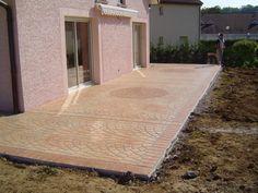 """Résultat de recherche d'images pour """"terrasse beton imprimé"""""""