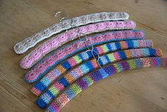Ravelry: Simple Coat Hanger Cover pattern by Andrea Denby | All Free Crochet And Knitting Patterns