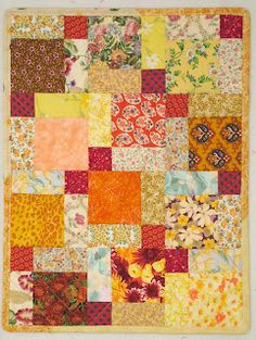 Quilts & ATCs: Disappearing 9 Patch Tutorial