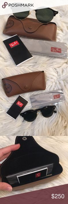 68af3fd79781 RayBan Clubround Classic Sunglasses Brand New Ray Ban Clubround Classic  Sunglasses with original case and contents