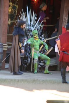 A Chronicle of the best of the worst costumes at the Texas Renaissance  Festival Fair.