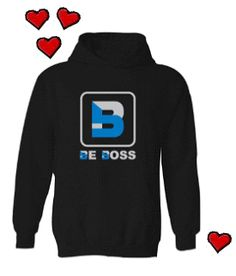 A BE BOSS Hooded Sweatshirt makes the perfect #ValentinesDayGift! Available at www.beboss.co #ValentinesDay #Gifts