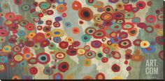 Celebration Stretched Canvas Print by Don Li-Leger at Art.com