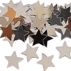 Konfetti Sterne Silber 14g