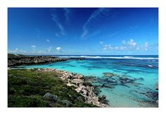 Rottnest Island is about 30 km southwest to Perth in Western Australia Western Australia, Homeland, Beautiful World, Places Ive Been, Nature Photography, Places To Visit, To Go, River, Island