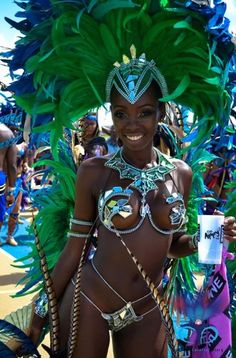 Barbados -carnaval and costums photography Trinidad Carnival, Caribbean Carnival, Rio Carnival, Ebony Beauty, Dark Beauty, Black Girls Rock, Black Girl Magic, My Black Is Beautiful, Beautiful Women