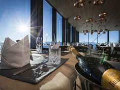 Das Restaurant Ice Q in Sölden ist ein Gourmet-Tempel der besonderen Art.