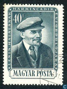 Postage Stamps - Hungary [HUN] - 30th anniversary of Vladimir Lenin