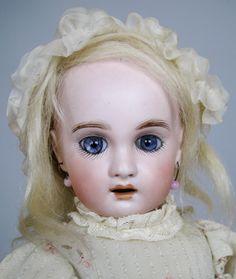 Scrumptious 11' Antique 1907 Jumeau Doll by Gebruder Heubach