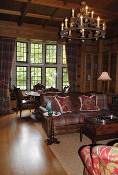 1000 images about tweedy interiors on pinterest tartan for Tartan living room ideas