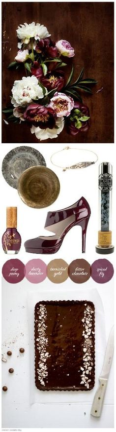 wine color and gold is better than reddish burgundy and gold.