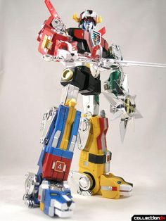 Voltron -- this was like the best show ever. Like, none of my friends remember it, and it's kind of sad.
