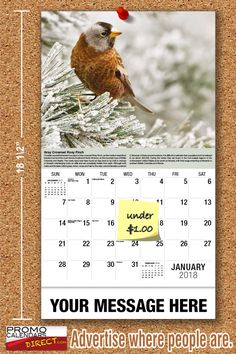 2021 Garden Song Birds Wall Calendars low as Advertise your business, organization or event logo and ad message the entire year! Promotional Calendars, Out Of Office Message, Advertising Techniques, Wall Calendars, Garden Birds, Phone Messages, Free Advertising, Business Organization, Holiday Cards