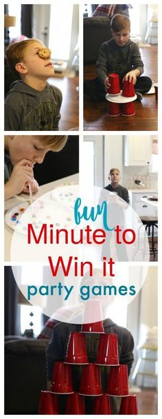 Minute to Win it Party Games