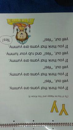 Y Alliteration Poem