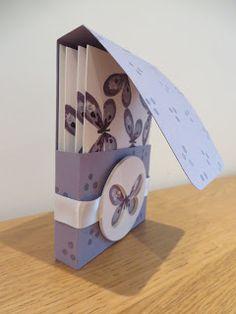 Watercolor Wings, Note Card Set Tutorial, Stampin' Up UK